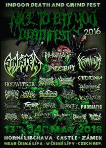 Nice to eat you Deathfest 2016