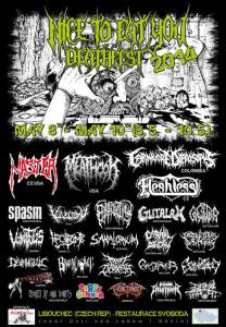Nice to eat you Deathfest 2014
