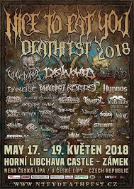Nice to eat you Deathfest 2018