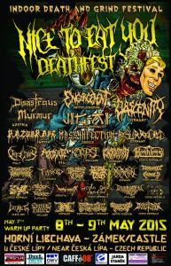 Nice to eat you Deathfest 2015