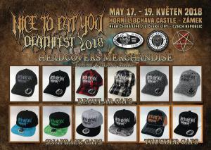 Merchandise NTEY Caps 2018
